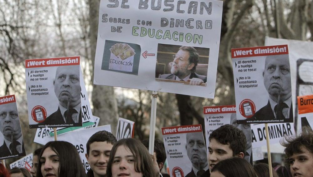 Huelga educativa del 9 de mayo