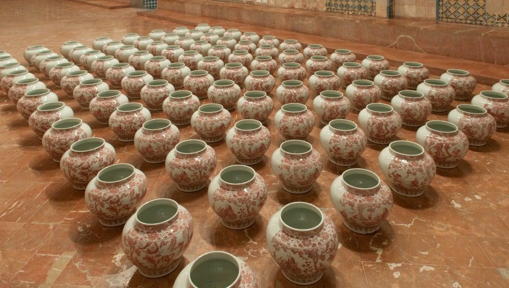 Una obra creada por el artista Ai Weiwei