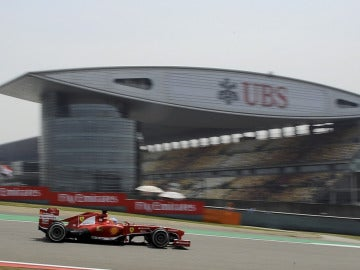 Fernando Alonso, en el GP de China