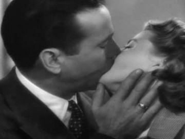 Beso de película...'Casablanca'