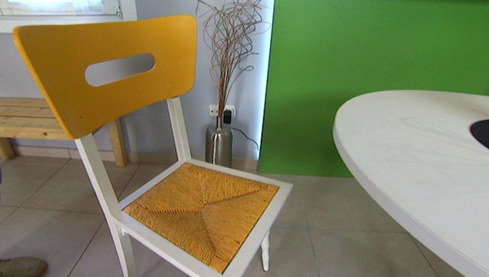 Reparamos un silla de madera