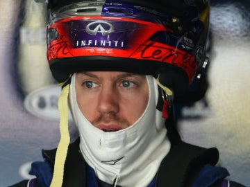 Vettel en el GP de China
