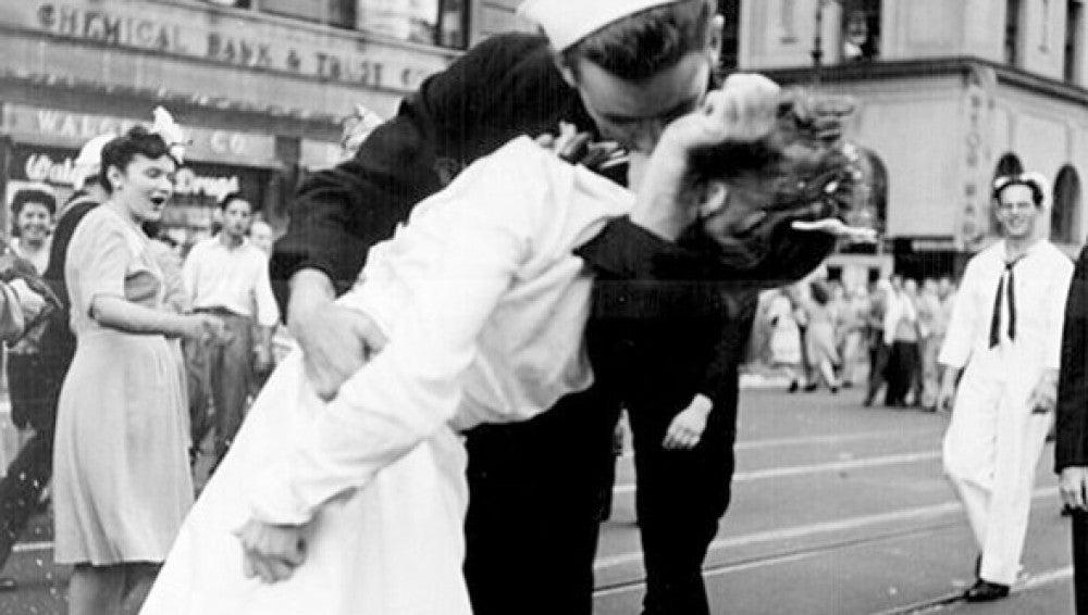 El beso de Eisenstaedt en Times Square