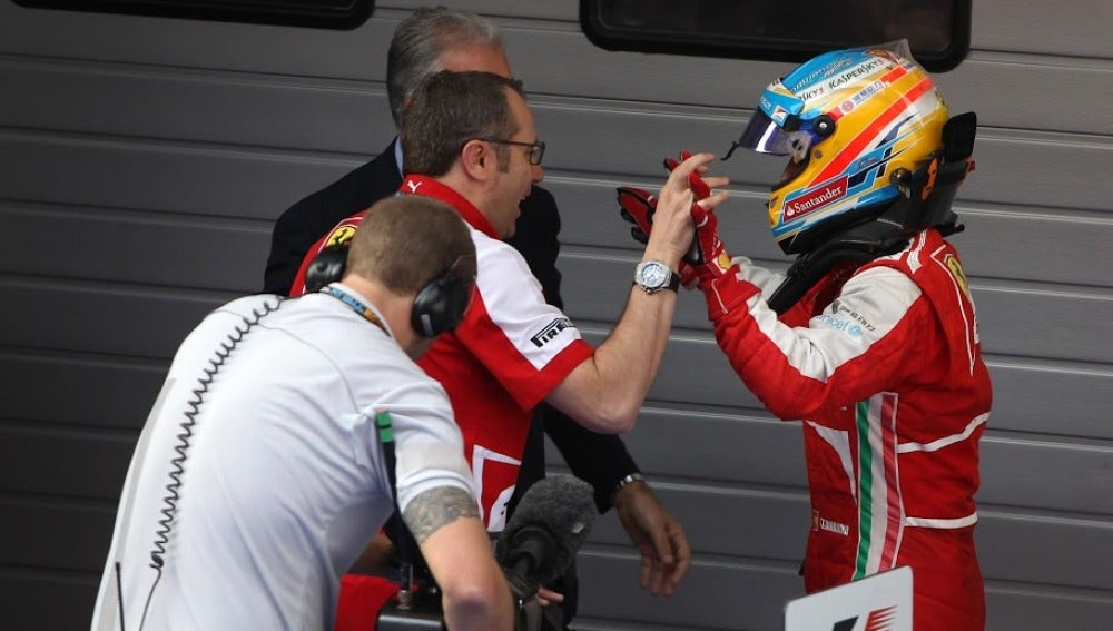 Domenicali felicita a Alonso en China
