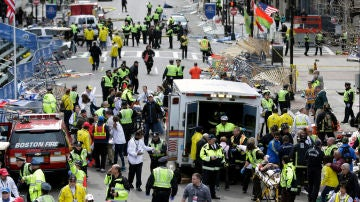 Explosiones en el maratón de Boston