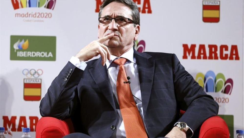 El exentrenador de la selección española de balonmano, Valero Rivera