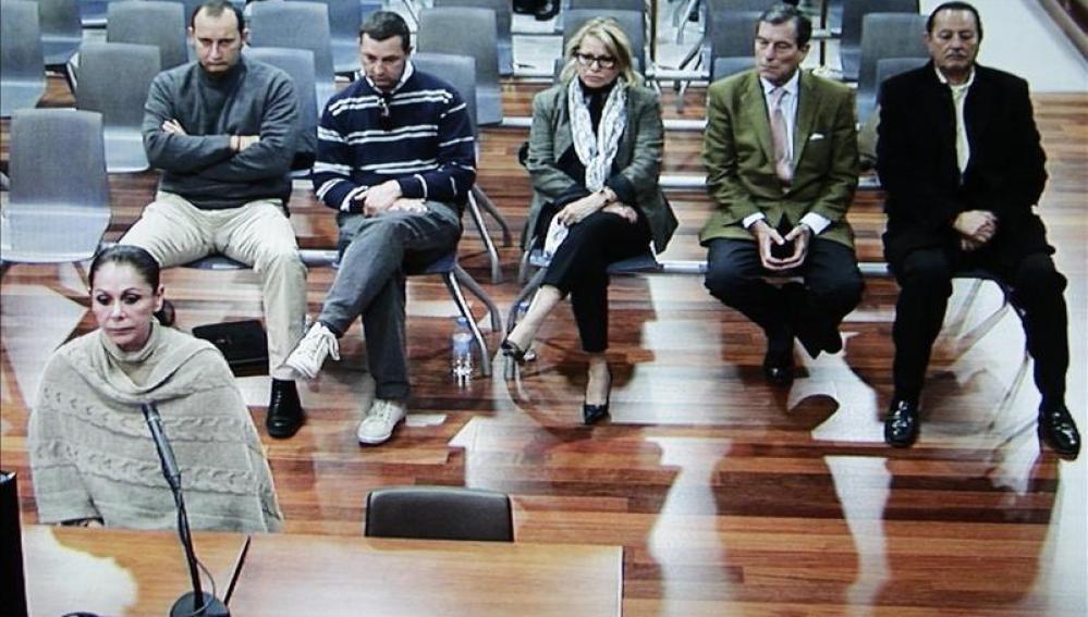 Isabel Pantoja declara en el juicio por blanqueo de capitales.