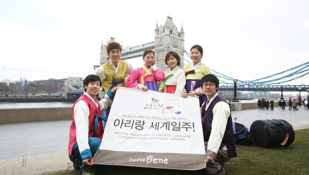 Grupo Korea Arirang Yurangdan Ready!