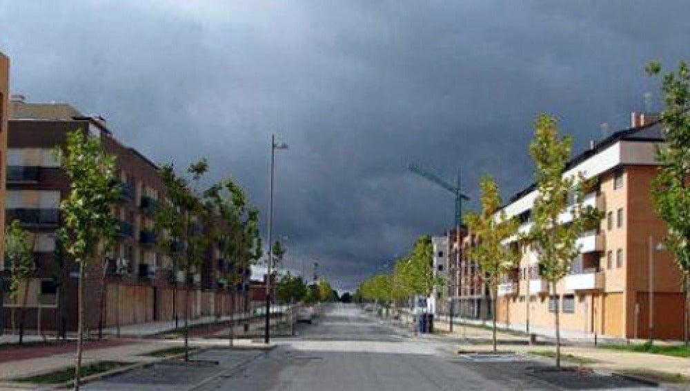 Aspecto de Yebes, en Guadalajara