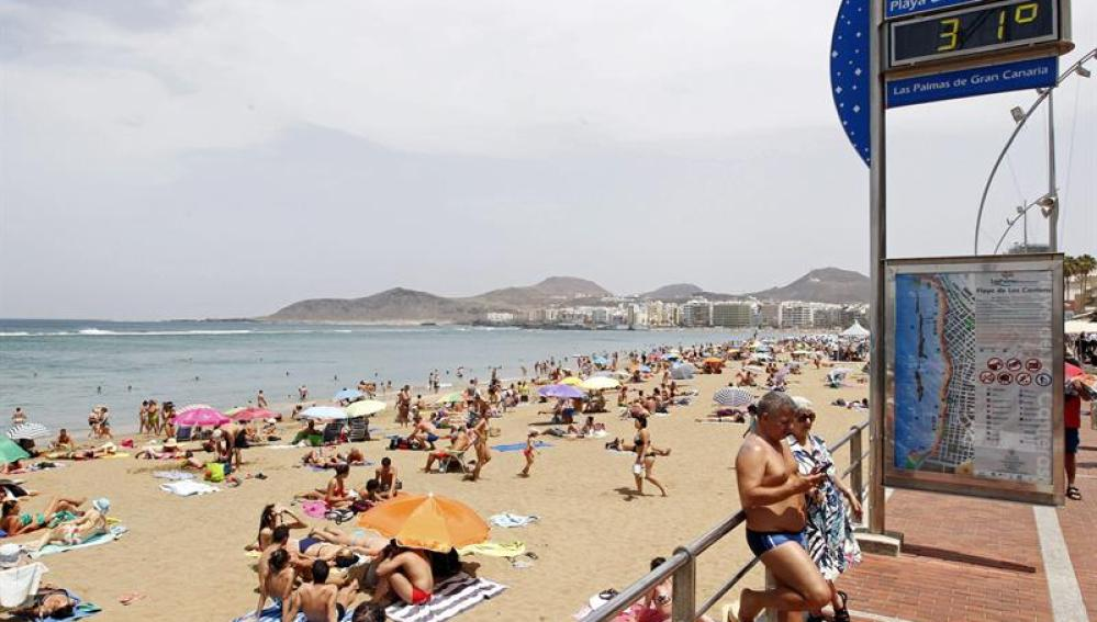 Calor en Gran Canaria