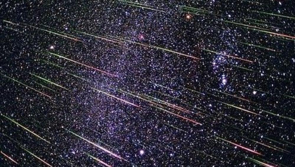 Lluvia de estrellas de las Líridas