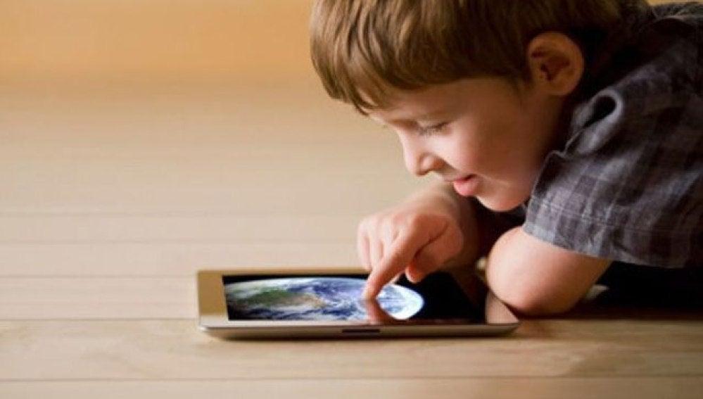 El uso de dispositivos móviles en niños se generaliza