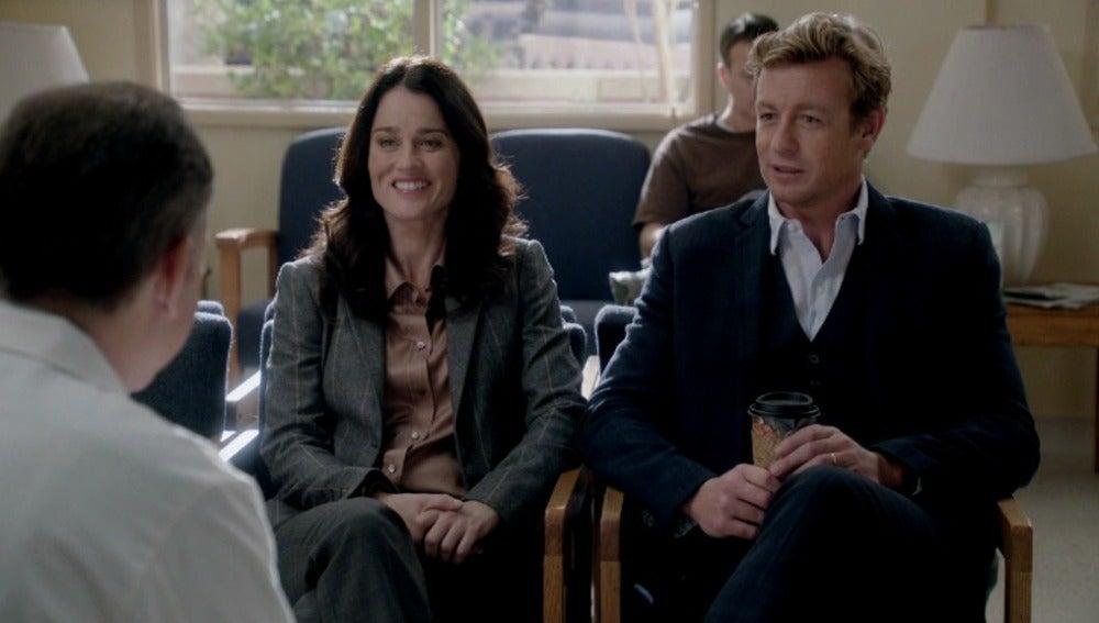 Lisbon y Jane descubriendo el caso