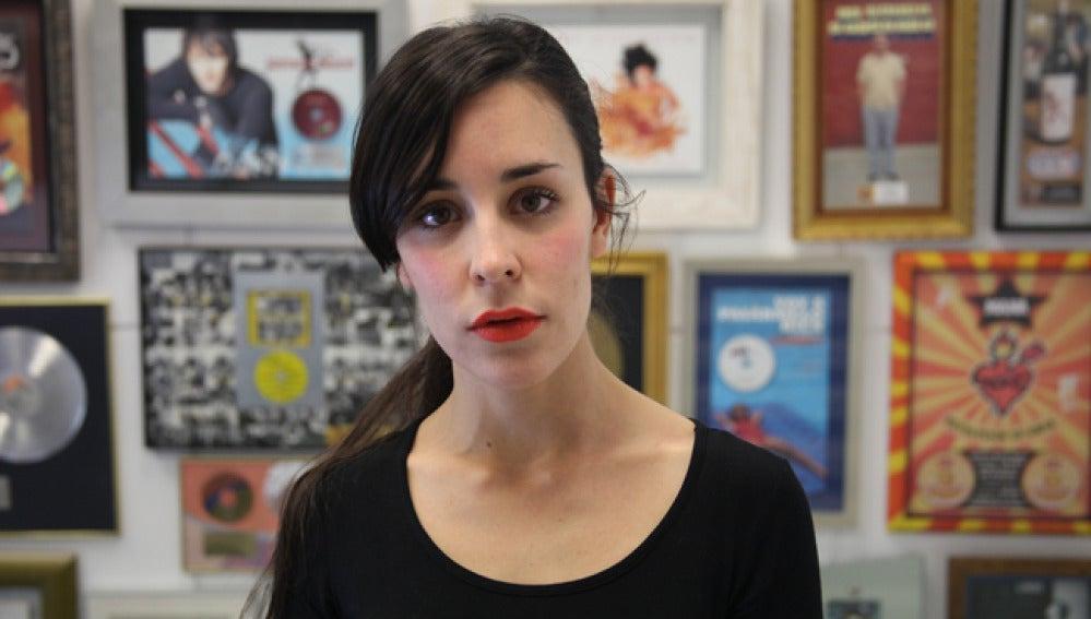 Nita, de Fuel Fandango, en Warner Music Madrid.