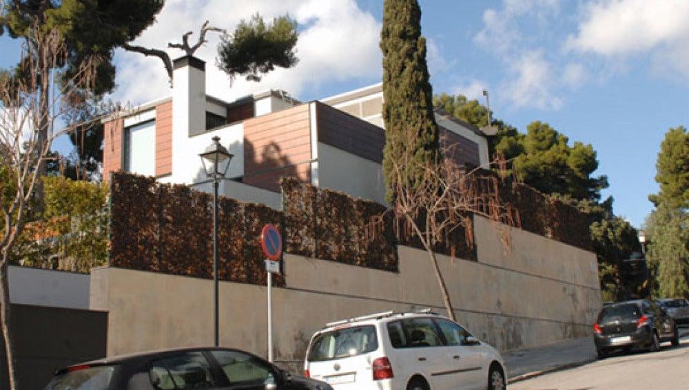 Palacete de Pedralbes en el que viven los duques de Palma