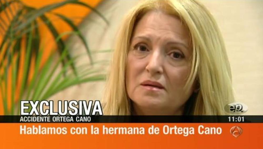 Carmen Ortega: Mi hermano es una gran persona y no se merece este linchamiento contra él