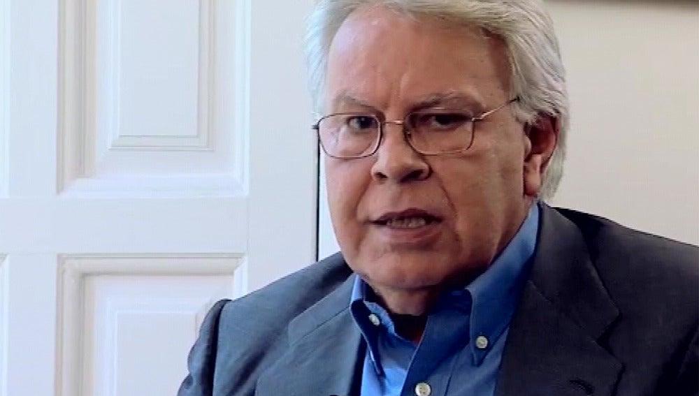 Felipe González, en Espejo Público