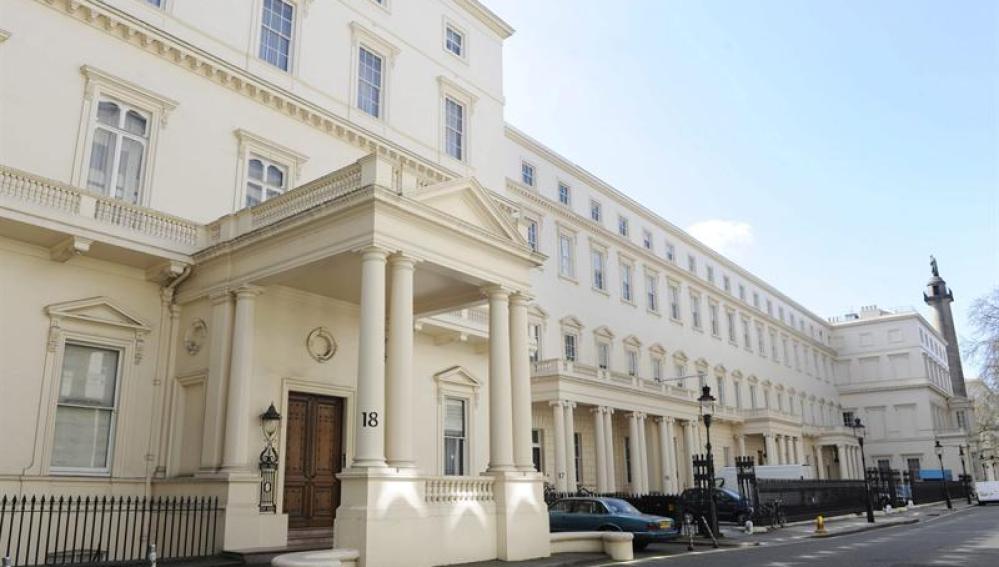 La propiedad más cara de Reino Unido, con un precio de 250 millones de libras (293 millones de euros)