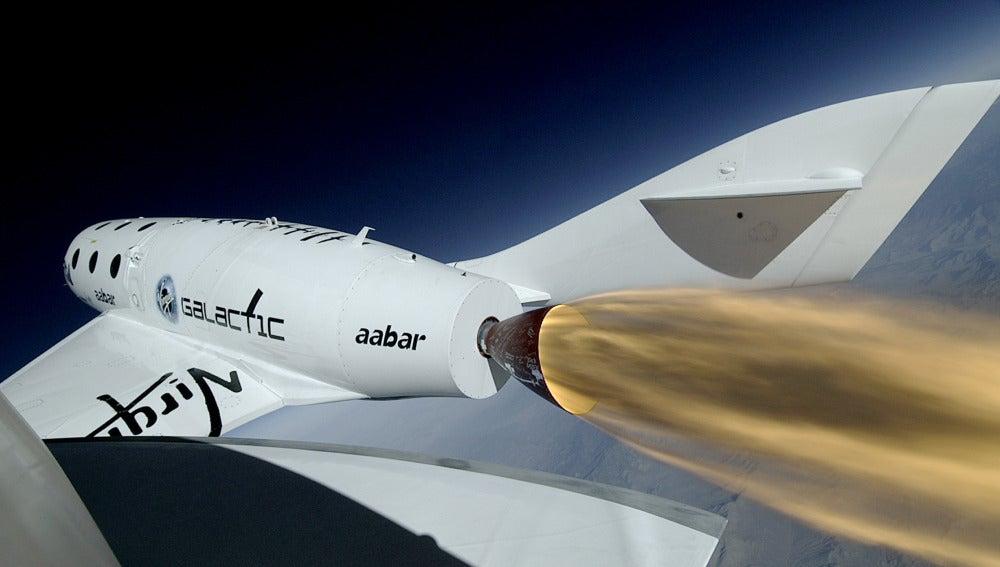 Nave de turistas espaciales 'SpaceShip Two'