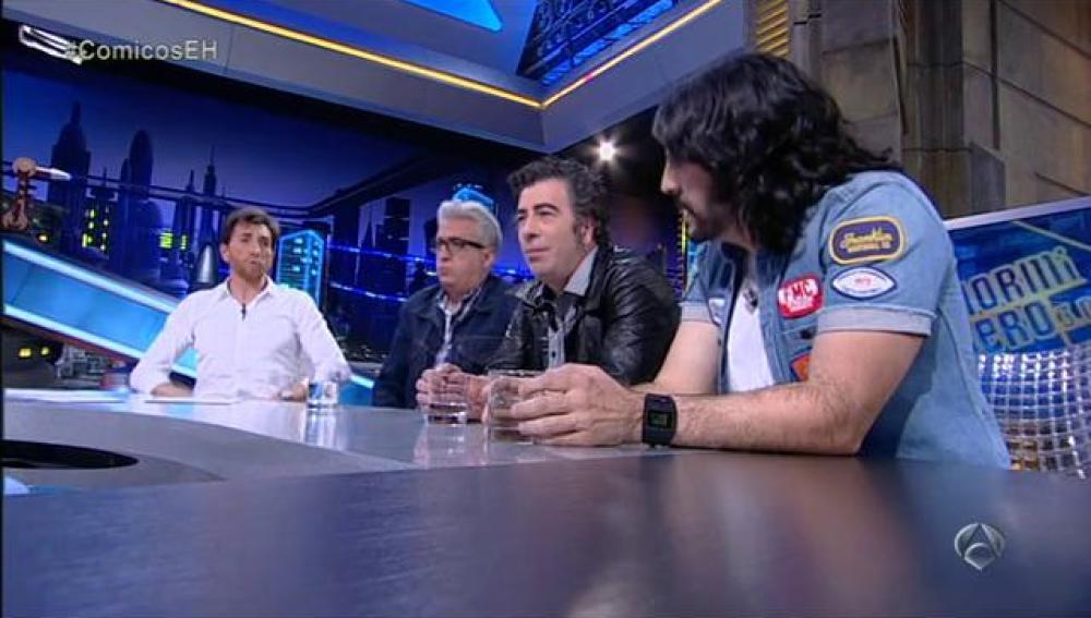 Agustín Jiménez, Leo Harlem y Vaquero