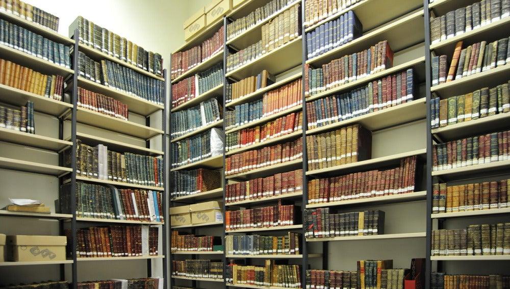 Parte de una biblioteca