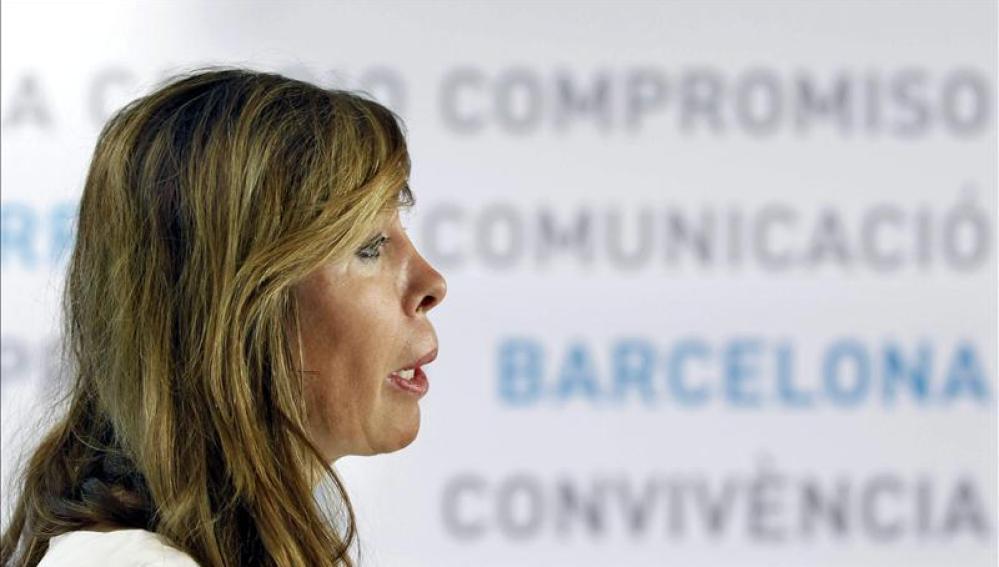 La presidenta del Partido Popular de Catalunya (PPC), Alicia Sánchez-Camacho