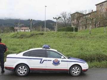 Un coche de la Ertzaintza.