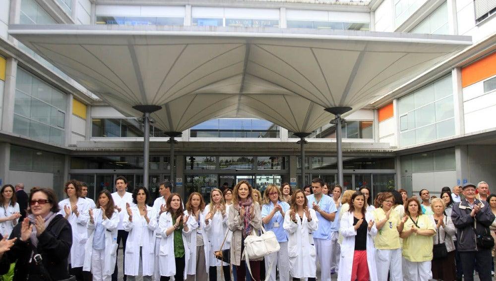 Trabajadores del Hospital Infanta Leonor