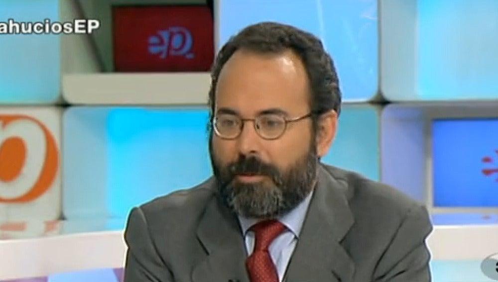 Miguel temboury, impulsor de la ley antidesahucios
