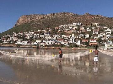Red antitiburones en Ciudad del Cabo