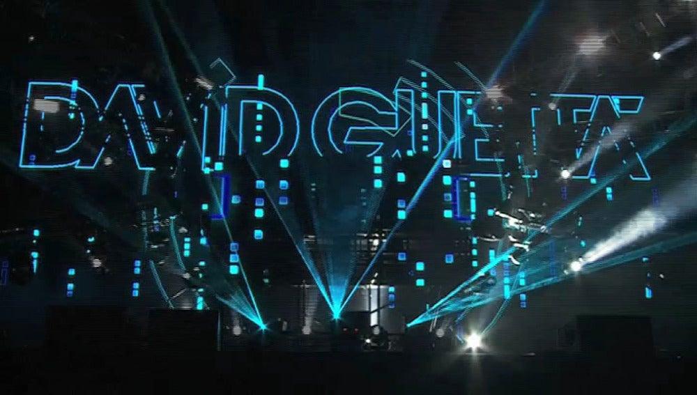 David Guetta en concierto