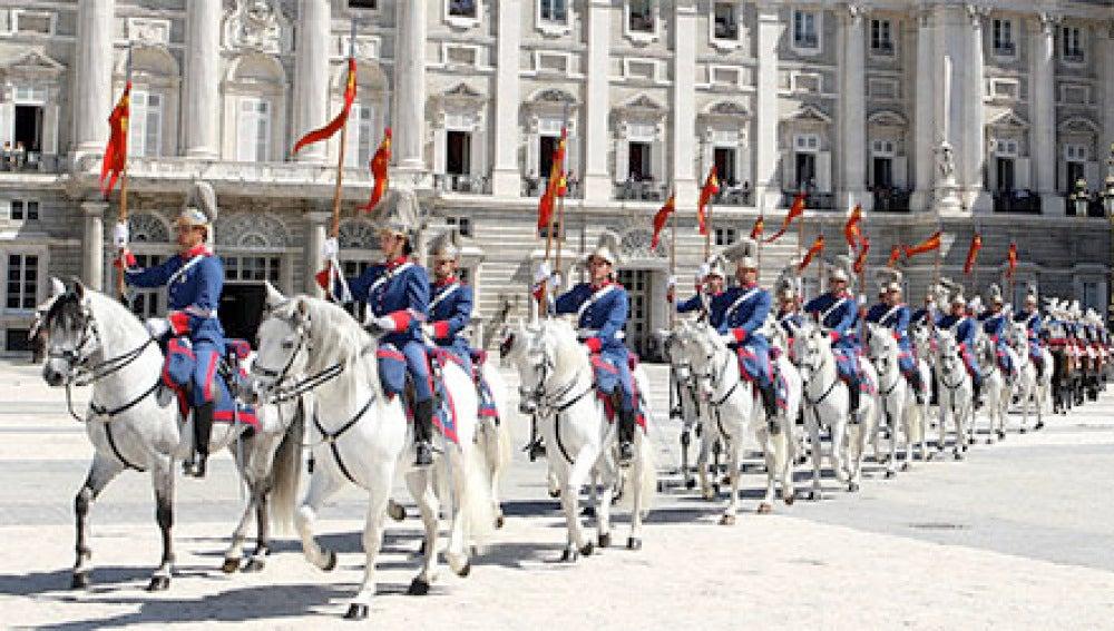 Caballos Guardia Real