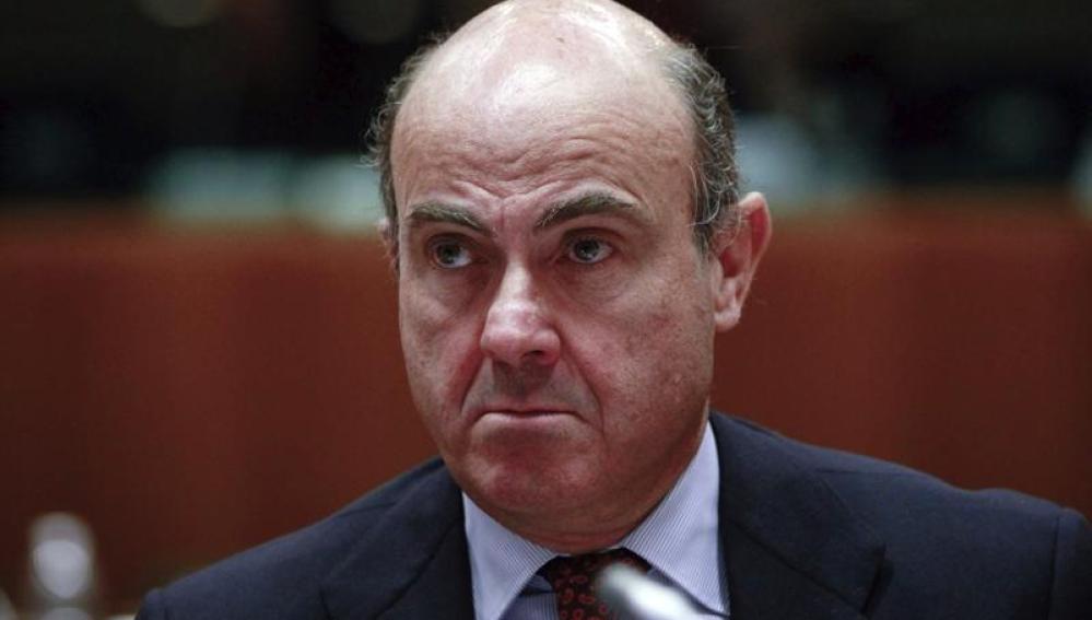 El ministro de Economía y Competitividad español, Luis de Guindos
