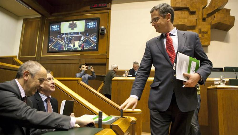 El hasta ahora presidente del PP en el País Vasco, Antonio Basagoiti