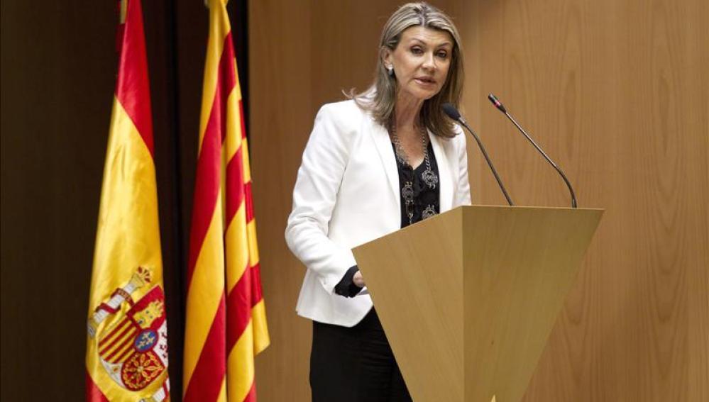 Llanos de Luna, delegada del Gobierno en Cataluña