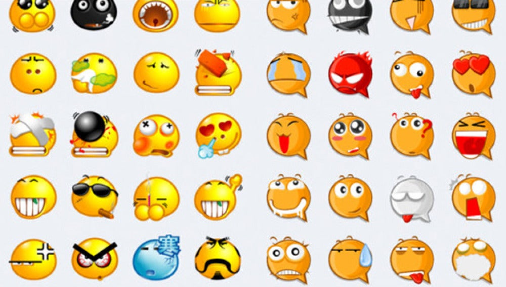 Algunos de los emoticonos que ofrece la app Stickers For WhatsApp Messenger