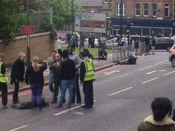 Ataque a un soldado en Woolwich, al sur de Londres