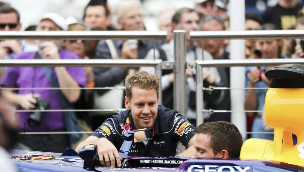 Sebastian Vettel en Montecarlo