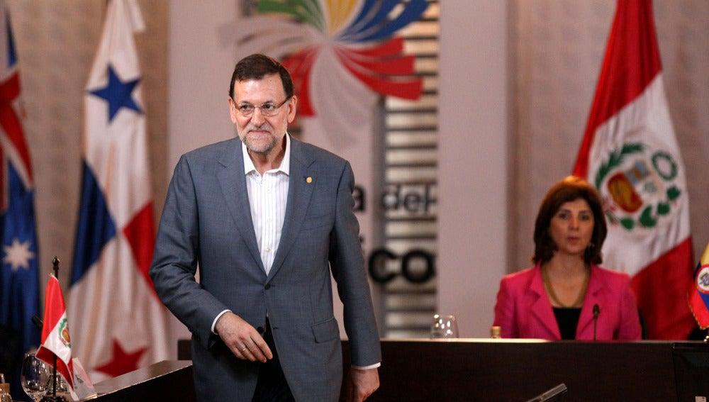 Mariano Rajoy, en la VII Cumbre de la Alianza del Pacífico