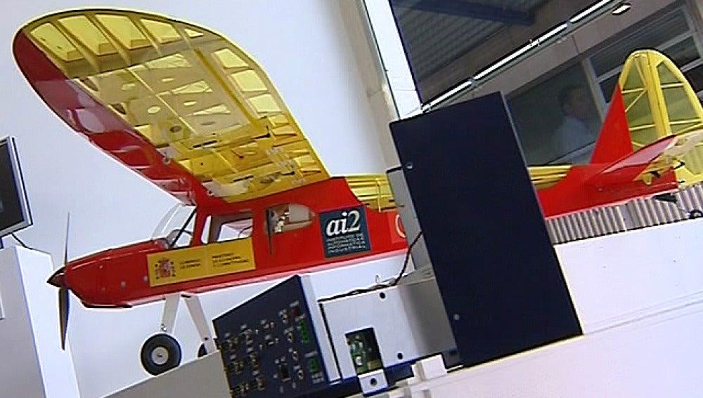 Avioneta a escala no tripulada