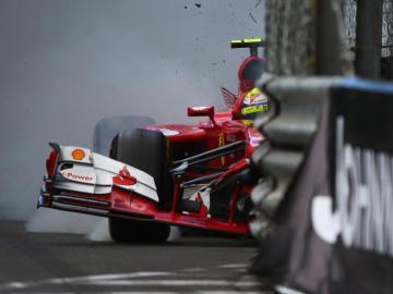 Accidente de Felipe Massa en Mónaco