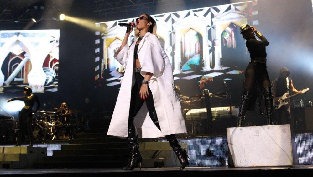 Rihanna en concierto