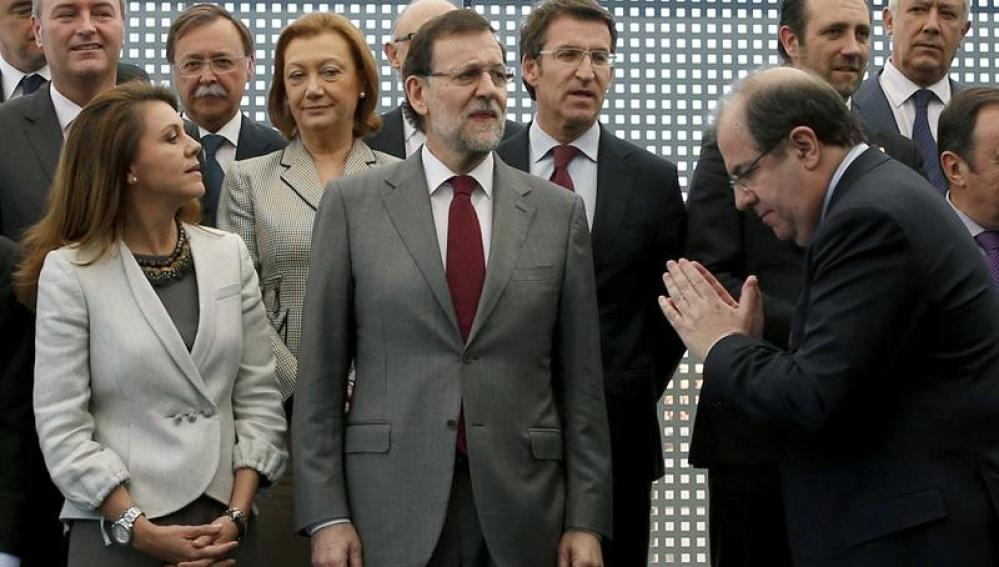 Rajoy se reúne con los presidentes autonómicos del PP