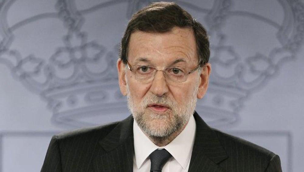 Mariano Rajoy, tras su reunión con el primer ministro de Austria