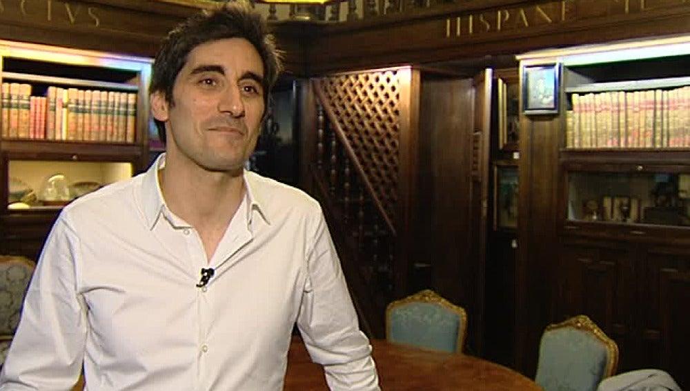 El escritor Manel Loureiro