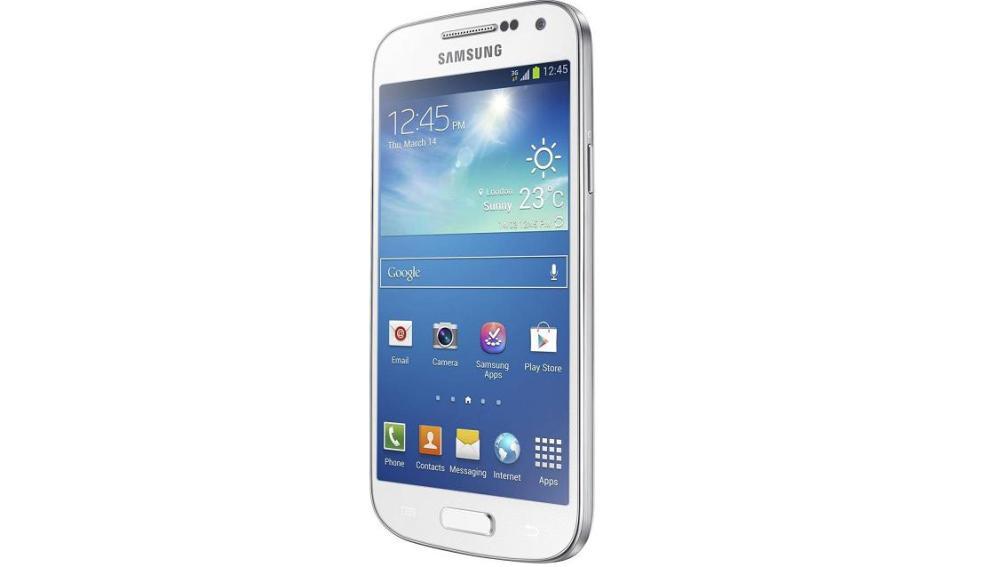 Aspecto del nuevo Samsung Galaxy S4 Mini