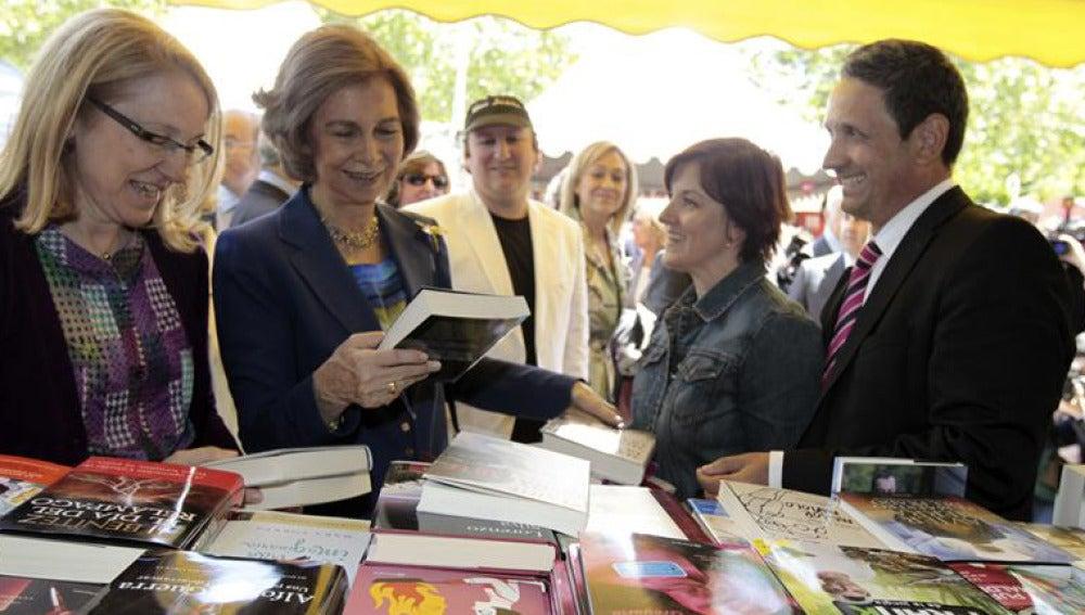 La Reina Sofía inaugura la Feria del Libro de Madrid