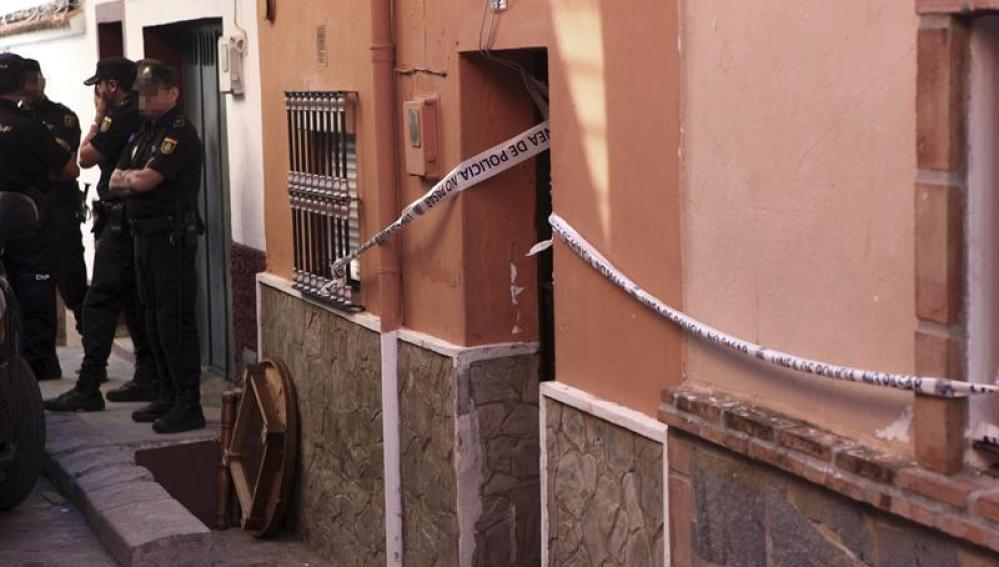 Vivienda de Algeciras donde vivieron dos menores