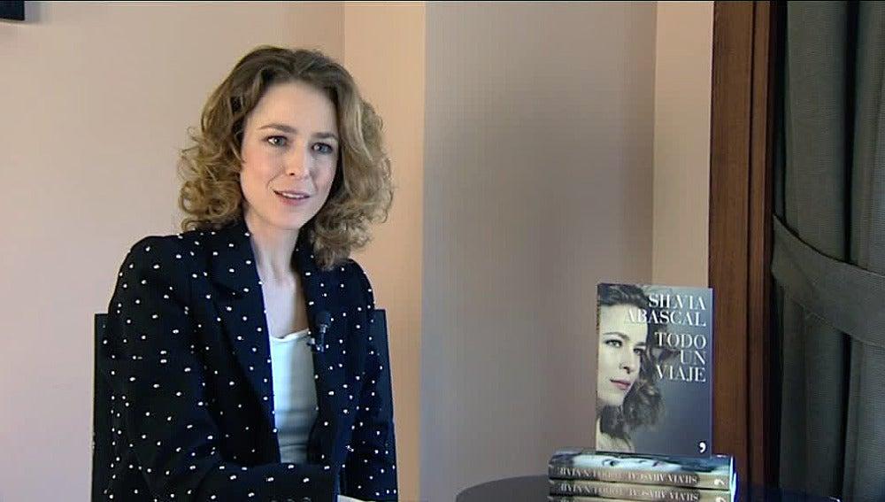 Silvia Abascal, en la presentación de su libro
