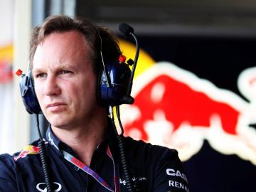 Christian Horner, jefe de Red Bull